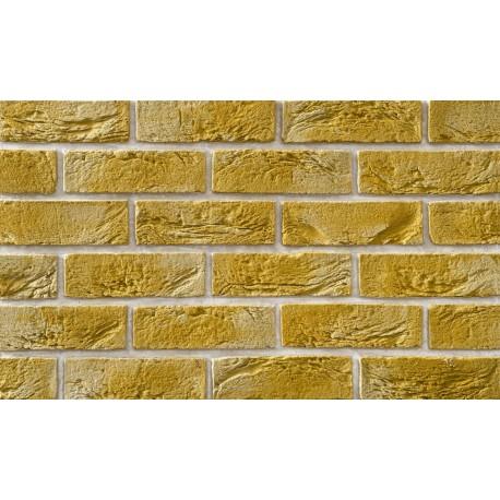 Cegła Elastyczna Retro Żółta 6,5x20 cm