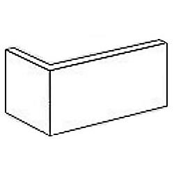 Cegła Elstyczna Retro narożnik 20x10x6,5 mm