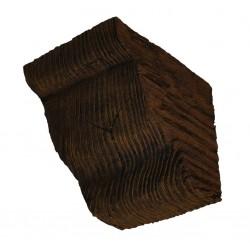 Konsoleta 11x7,5 cm ciemny dąb