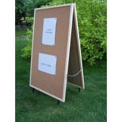 Potyczka - Stojak reklamowy 120x60 cm