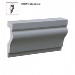 BW09  Listwa wokół okienna 160mmx50mmx2m