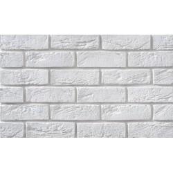 Cegła Elastyczna Retro Biała 6,5x20 cm