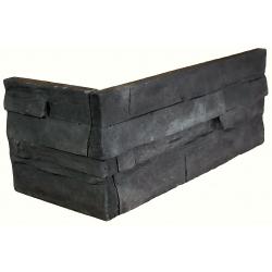 Pag Black narożnik kamień dekoracyjny