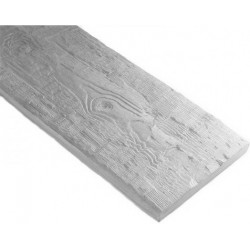 Deska Ciosana 260x20x3 cm biała