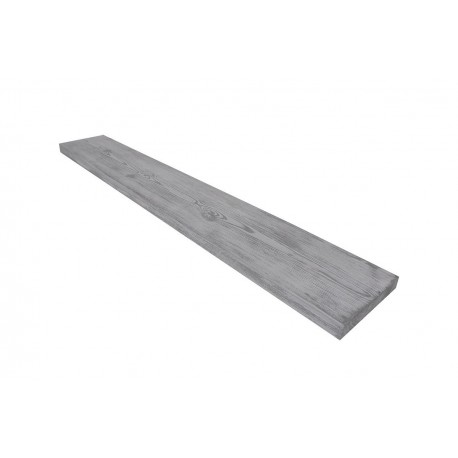 Deska Modern 250x15x3 cm patyna szara